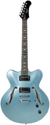 Guitarra Tagima Seattle Semi acústica Azul Metálico Acompanha case