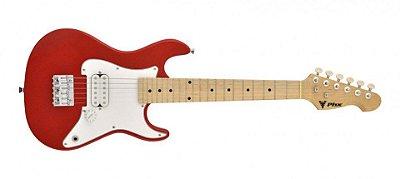 Guitarra Infantil PHX Strato Juvenil IST1 Vermelha