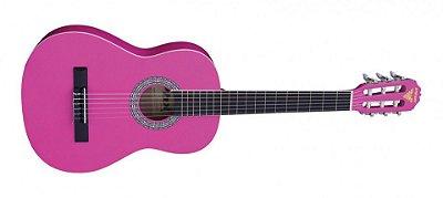 Violão Infanto/juvenil PHX PX34 Rosa