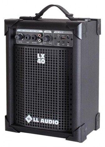 Caixa Amplificada Multiuso Lx40 USB c/ Controle Remoto