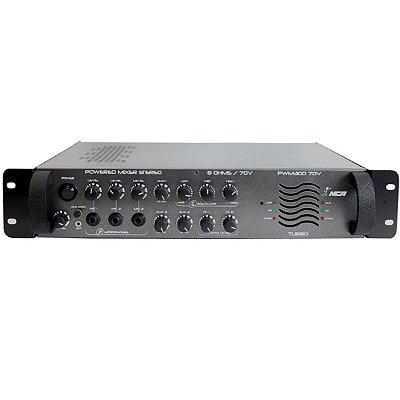 Pré-amplificador para Som Ambiente NCA PWM-300-70V