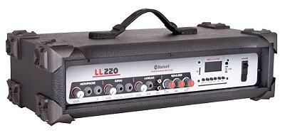 Cabeçote Multiuso Amplificado LL 220 BT/ Bluetooth/ USB/ SDCARD/ AM-FM
