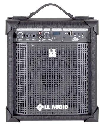 Caixa Amplificada Multiuso LX40 FM - Com Radio AM/FM e entrada USB