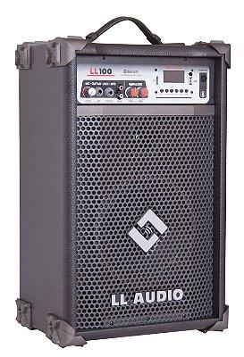 Caixa De Som Multiuso LL100 25w Rms BLUETOOTH/USB/SD CARD/RÁDIO