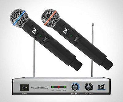 Microfone TSI MS420 VHF Mão Duplo
