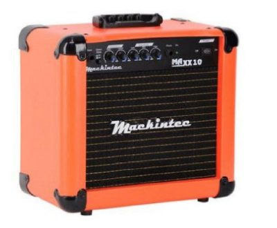 Cubo Amplificador De Guitarra Maxx10 Mackintec Laranja