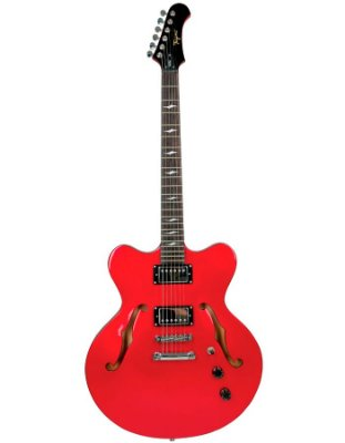 Guitarra Tagima Seattle Semi acústica Vermelha Acompanha case