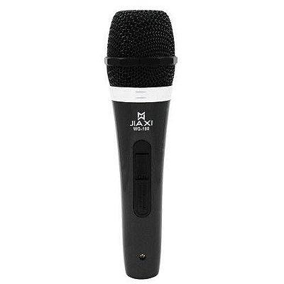 Microfone mão com fio Dinâmico Jiaxi Wg-198