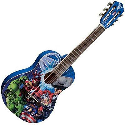 Violão Infantil Vingadores linha Marvel PHX vim-a1 acompanha capa