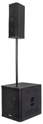 Caixa Ativa Line 750 Watts Rms Bluetooth Usb Dj Sub Vert3000