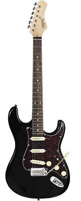 Guitarra Tagima Stratocaster T635 Preta TT