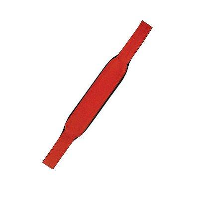 Correia dos Baixos para Acordeon Basso Estofado Vermelho