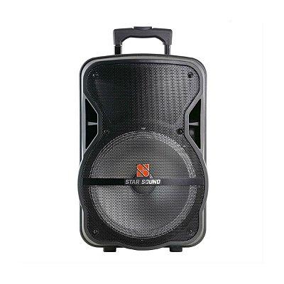 Caixa Ativa 10 Com Bateria Bt/fm/sd/usb Ss100 Star Sound