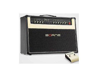 "Amplificador Para Guitarra Borne Evidence100 2 falantes 10"""
