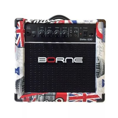 Amplificador Para Guitarra Borne G30 15w Rms London