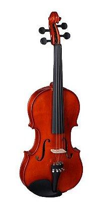 Violino Vignoli 4/4 Maciço Vig344 Estojo Arco breu