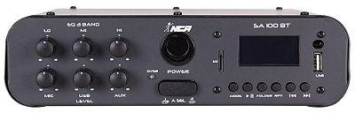 Amplificador Compacto de Potência NCA - SA100 BT - COM BLUETOOTH MONO