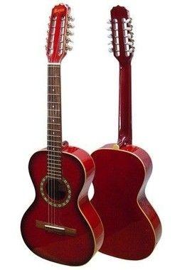 Viola Rozini Cinturada Acústica RV101 AC.VM - Vermelha