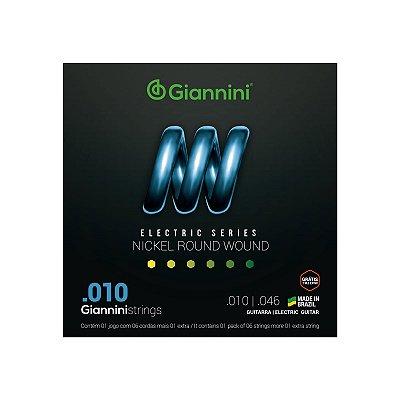 Encordoamento para guitarra GIANNINI - .010