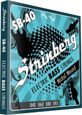 Encordoamento para baixo 4 cordas STRINBERG SB-40 - .040