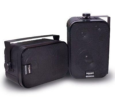 Caixa Acústica Passiva Som Ambiente SP400 PRETA - Vendida em Par
