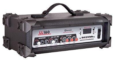 Cabeçote Multiuso Amplificado LL160 BT/ Bluetooth/ USB/ SDCard/ AM-FM