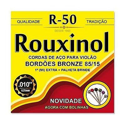 Encordoamento Rouxinol Violão Aço R50