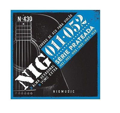 Encordoamento NIG Violão Aço N430 011