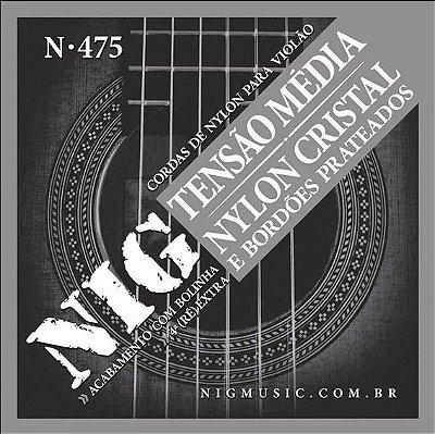 Encordoamento NIG Violão Náilon N475
