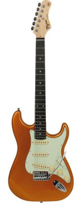 Guitarra Tagima TG500 Strato Metallic Gold Yellow