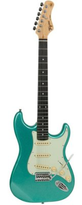 Guitarra Tagima TG500 Strato Metallic Surf Green