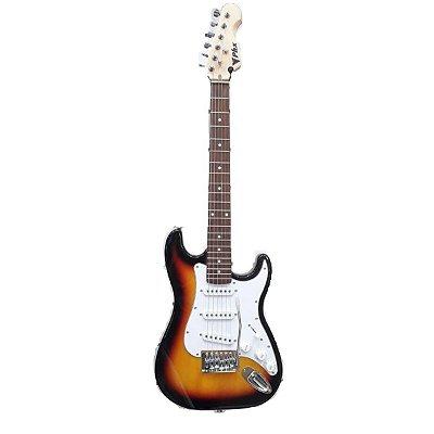 Guitarra PHX Stratocaster Juvenil IST1 3/4 Sunburst