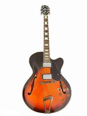 Guitarra Tagima Semi Acústica Jazz 1900 Sunburst
