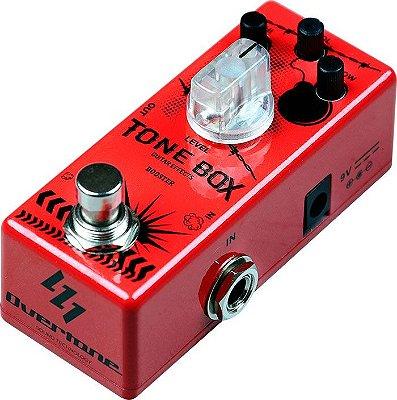 Pedal de Guitarra Overtone Tone Box - Booster
