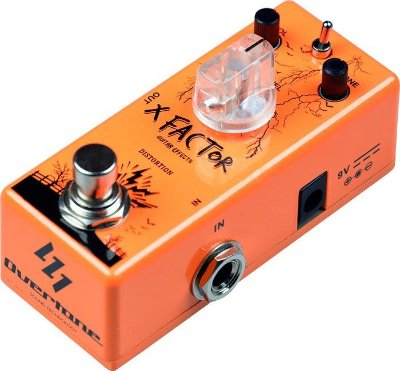 Pedal de Guitarra Overtone Xfactor - Distortion