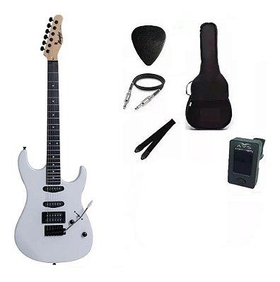 Kit Guitarra Memphis By Tagima MG260 Branca