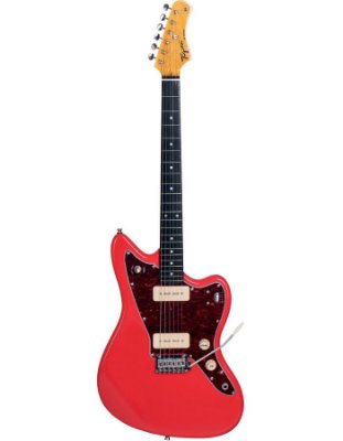 Guitarra Tagima Tw61 Woodstock Fiesta Red