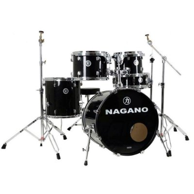 Bateria Nagano Garage Rock 22 Ebony Sparkle