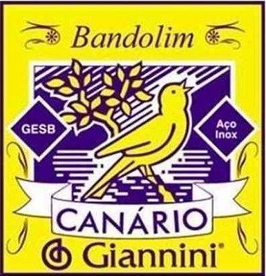 Encordoamento para Bandolim - Canário gesb