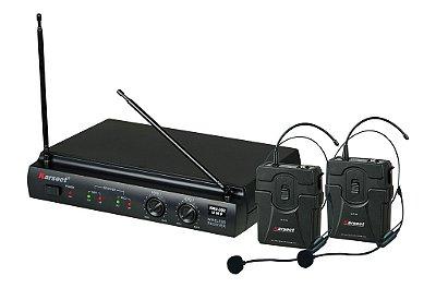 Microfone Karsect Duplo Headset - Kru302