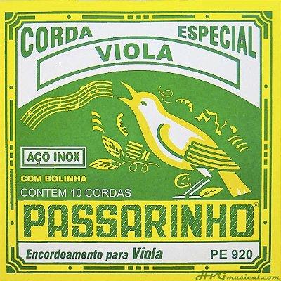 ENCORDOAMENTO P/ VIOLA CAIPIRA PASSARINHO PE920