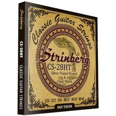 Encordoamento Strinberg CS28HT para Violão náilon tensão alta