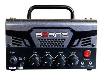Cabeçote Amplificador Borne Mob T30 Chumbo - 30w