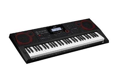 Teclado Casio Ctx3000 61 teclas com resposta ao toque 64 polifonias