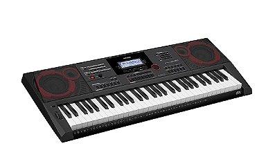 Teclado Casio Ctx5000 61 teclas com resposta ao toque 64 polifonias