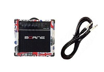 Amplificador Para Guitarra Borne G30 15w Rms London Cabo p10 Brinde