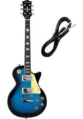 Guitarra Strinberg Les Paul LPS230 Azul Cabo P10 Brinde