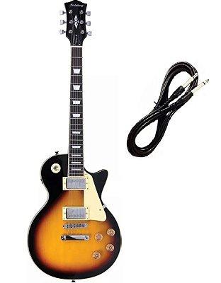 Guitarra Strinberg Les Paul LPS230 Sunburst Cabo P10 Brinde