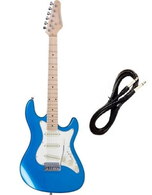 Guitarra Strato Strinberg STS-100 AZUL Cabo P10 Brinde