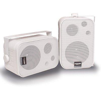 Par Caixa Acústica Passiva Som Ambiente Sp400 Branca